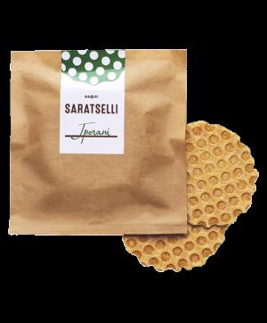 Солені вафлі SARATSELLI Гречані