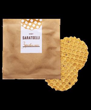 Солені вафлі SARATSELLI Зерновий мікс
