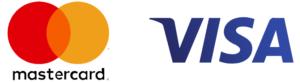 Оплата банківською карткою Mastercard або VISA